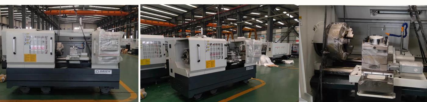 CNC Lathe Machine CK6150 reday for Shipment